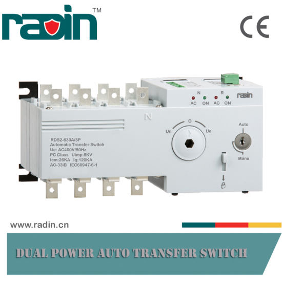 630A 3p/4p Generator Transfer Switch ATS, Auto Changeover Switch (RDS2) pictures & photos