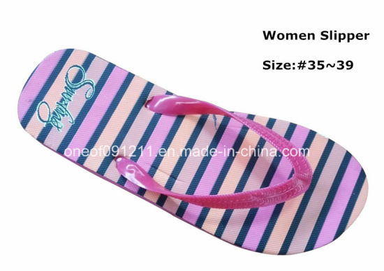 Elastic Good Quality Flip Flop Women Slipper