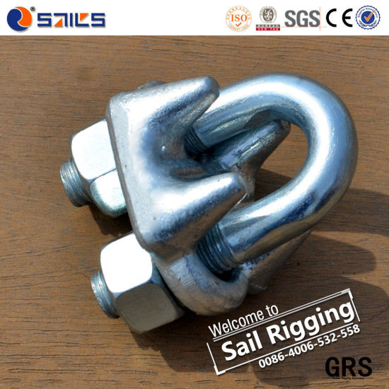 Us Type Galv Melleable Wire Rope Clips pictures & photos