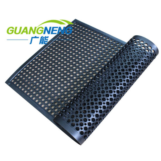 Bar, Kitchen, Restaurant, Outdoor Anti-Fatigue Grease and Water-Resistant Rubber Floor Mat pictures & photos