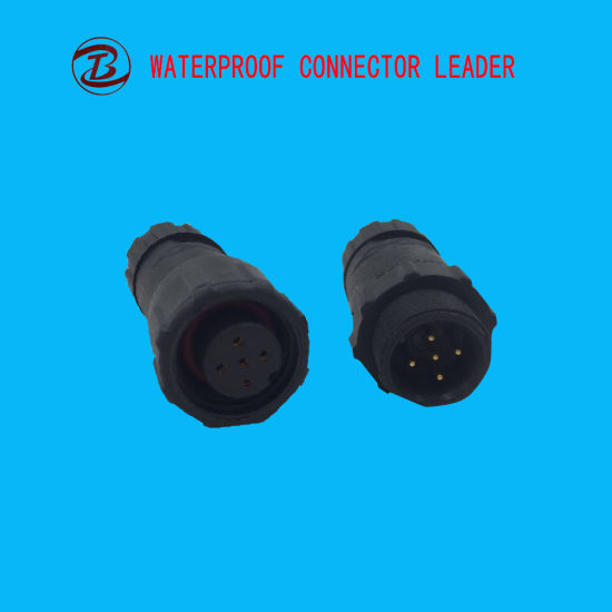 Wire Connector Waterproof Male Female Led 5 Pin Electric Plug