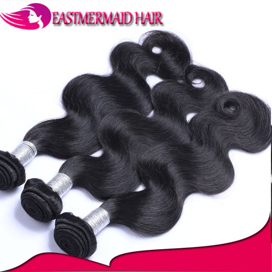 Peruvian Body Wave Hair Extension Remy Bundles Brazilian Human Hair pictures & photos