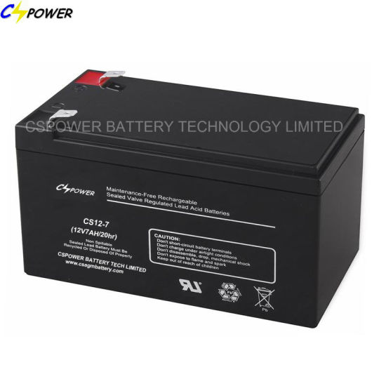 12V7ah Lead Acid Battery UPS Battery with CE ISO
