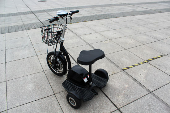 500W 48V Front Suspension Fork Zappy Three Wheel Elecric Scooter with Seat  and Handles/Electric Tricycle
