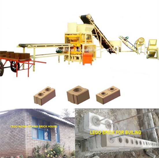 China Automatic House Building Lego Block Machine Building