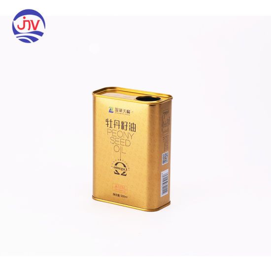 1 Pint Wholesale Small Metal Can Oil Seal Tin Container
