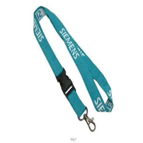 Customized Cheap Tubular Woven Lanyard Hanger Hot Sales Heat Transfer pictures & photos