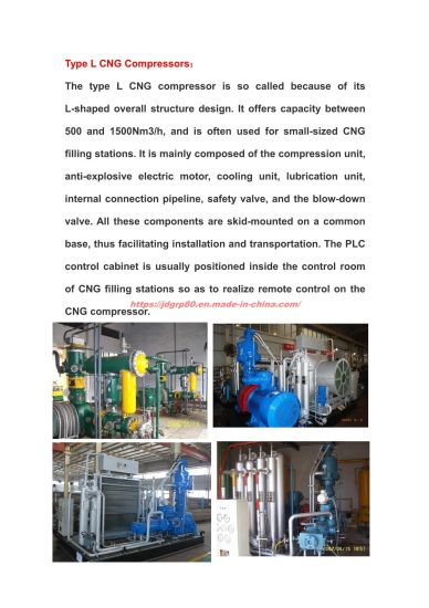 CNG Station Compressor  CNG Station Equipment pictures & photos