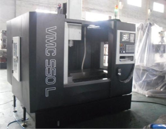 CNC Milling Machine/Machining Center with CNC Vmc550L pictures & photos
