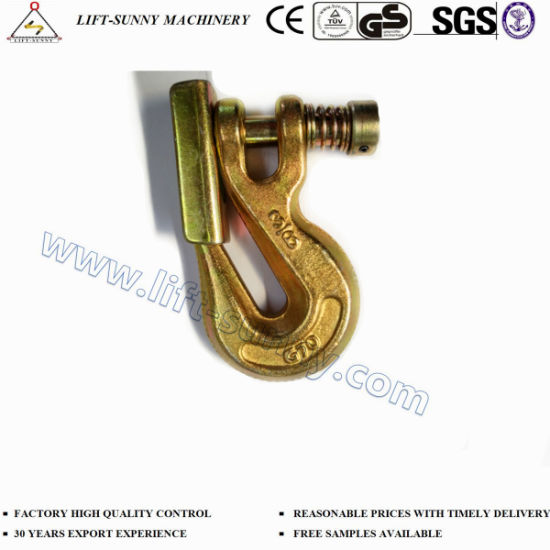 Forged Alloy Steel G70 Clevis Grab Hook Safety Type