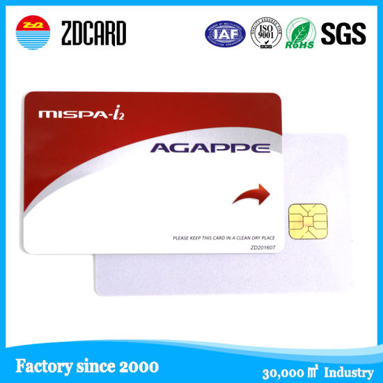 OEM 14443A Protocol Hf RFID Epoxy Smart Card pictures & photos