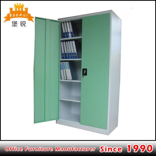 Fas-008 2 Door Locker Style Book Cabinet / Metal Office Storage Cabinet & China Fas-008 2 Door Locker Style Book Cabinet / Metal Office ...