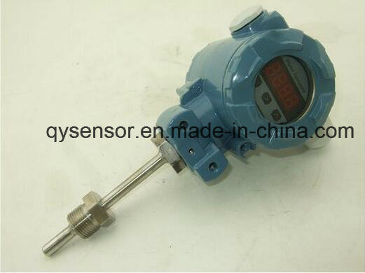 PT100 Temperature Transmitter, RS485 Transmitter for Temperature 0~100 Dge C Temperature Sensor pictures & photos