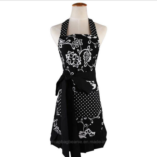 Wholesale Custom Fashion Printing Kitchen Waterproof Apron pictures & photos
