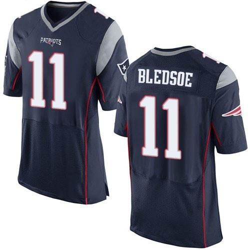 the latest 0e010 d2f09 Patriots Tom Brady Drew Bledsoe Julian Edelman Rob Gronkowski Football  Jerseys