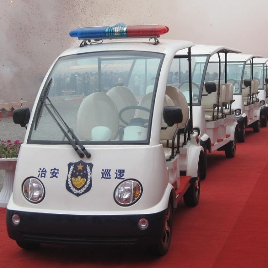 4 Seat Park Playground Electric Security Patrol Car (DN-4P) pictures & photos