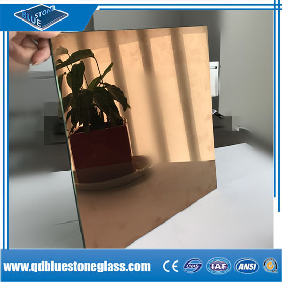 Wholesales 12.38 mm Laminated Glass with Bronze Coating Glass for Building