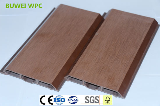 China 100*15 Exterior Wood Plastic Composite Wall Cladding with SGS ...