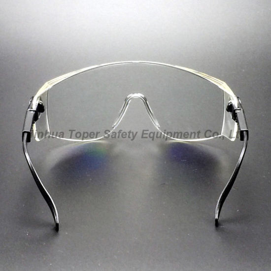 Transparent PC Lens Safety Eye Glass Protection (SG108) pictures & photos
