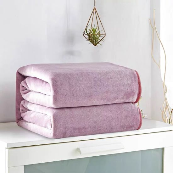 Thick Warm Blanket Single Dormitory Flannel Double Coral Fleece Sheets Summer Blanket