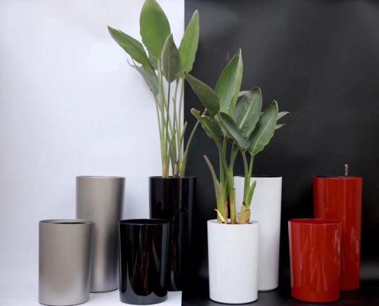China Supplies Hot Sale Colorful Garden Plastic Plants Pot