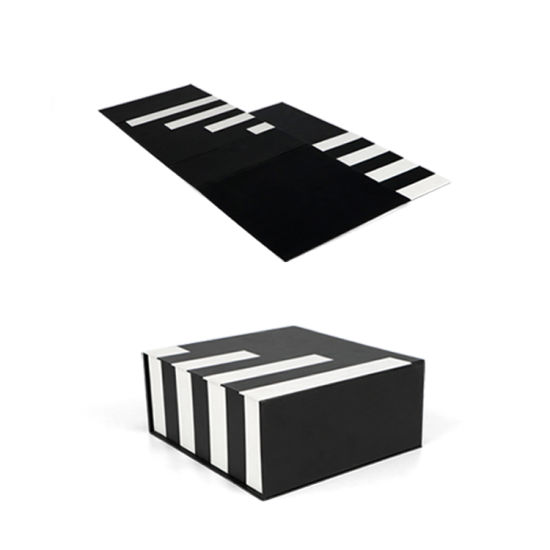 Firstsail Hot Fancy Magnet Box Carton Rigid Flat Luxury Magnetic Folding Storage Foldable Cardboard Gift Box Paper Packaging