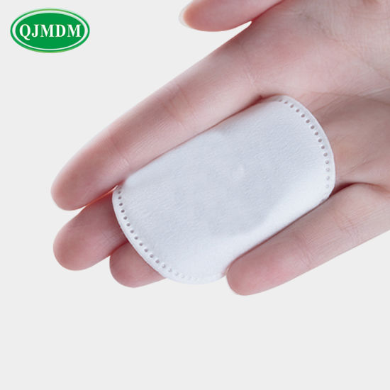 100% Pure Cotton Makeup Remover Pads Cosmetic Cotton for Lady′ S Beauty