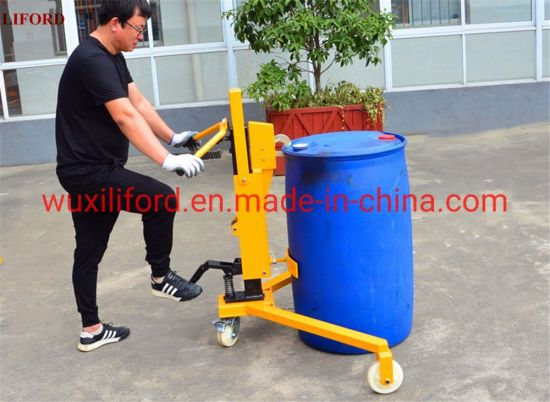 350kg Hydraulic Drum Lifter with Eagle-Grip Structure Dt350b