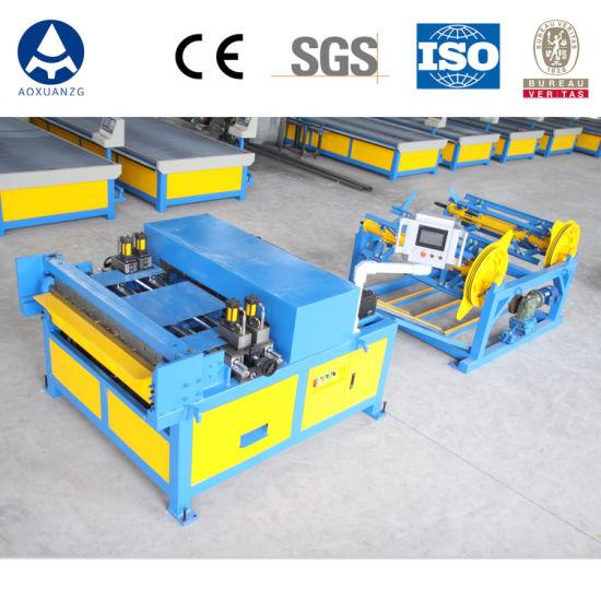 Aoxuan Air Duct Production Line 3, HVAC Duct Making Machine Super Auto Line 3