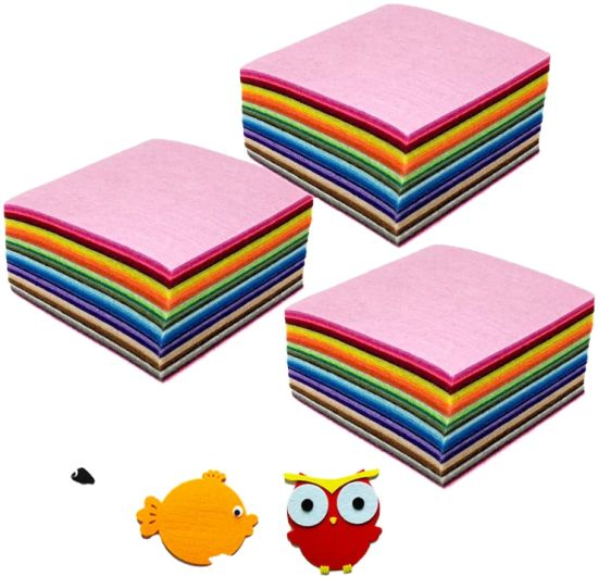 Amazon Hot Selling China Export Cheap Craft Felt Roll Polyester Felt with Custom Color