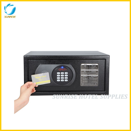 Hotel Digital Safe Box Deposit Box with Master Card Override