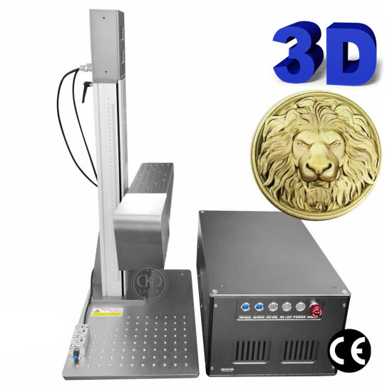 Small 3D Dynamic Automatically Focusing Laser Marking Engraving Machine