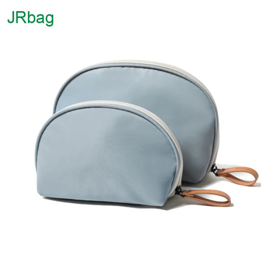 Hot Sale Half Moon Travel Beauty Makeup Bag for Cosmetic