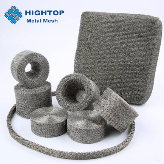 SS304 Gas Liquid Knitted Wire Mesh for Demister