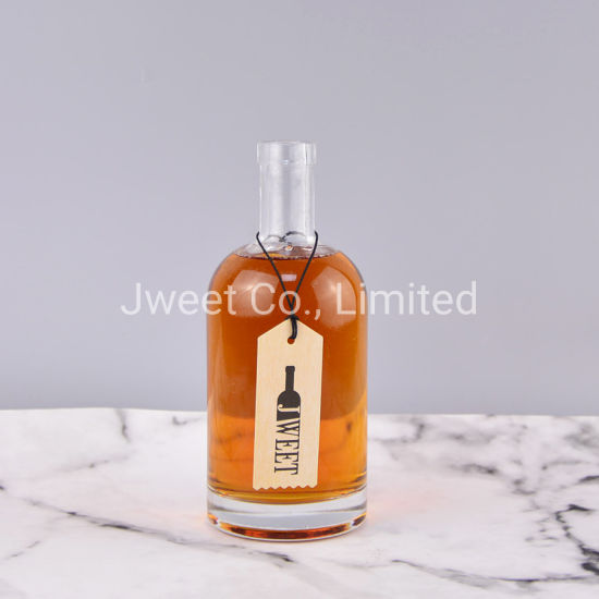 500ml High Quality Crystal Glass Scotch Whisky Bottle