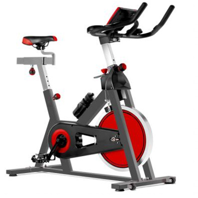 Stationary Upright Exercise Spin Bike Belt Drive Premium Indoor Cycling Trainer Spinning Bike