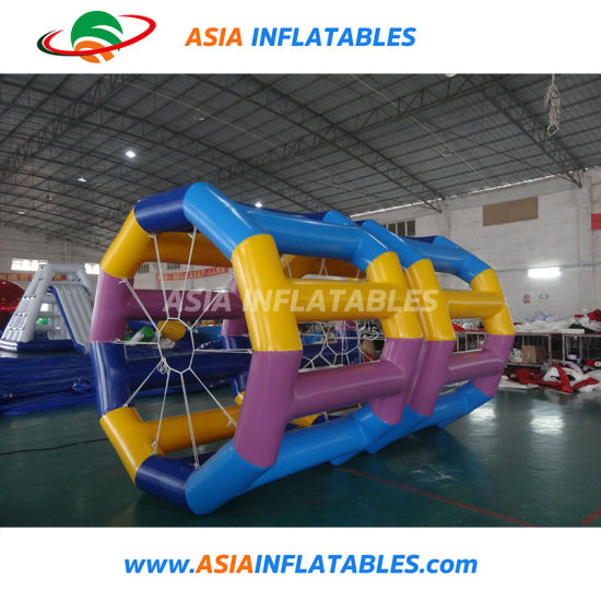 New Design Inflatable Water Toy PVC Inflatable Roller Ball for Lake pictures & photos
