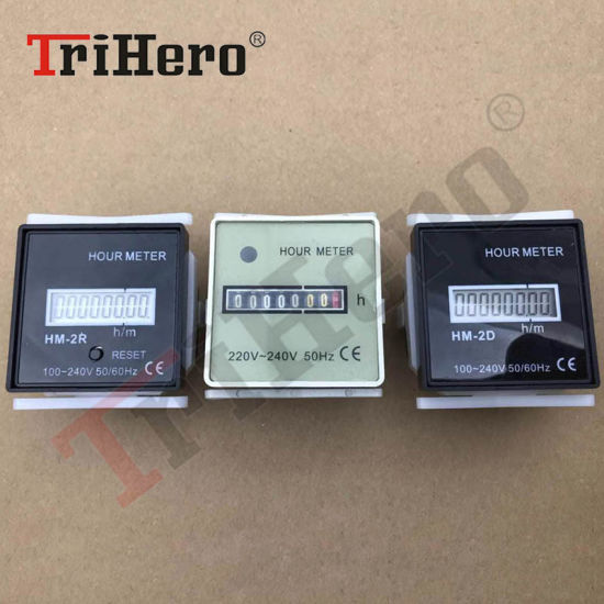 China New Type LCD Display Hour Meter Hm-2D, Hm-2r - China