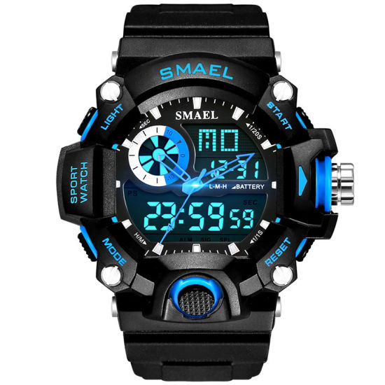 Watches Men Swiss Fashion Promotion Smart Gift Digital Watch Watches Custome Quality Sports Watch Plastic Watch pictures & photos