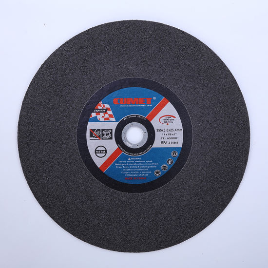 14' Cutting Wheel Disc for Metal Abrasive with MPa Certificate