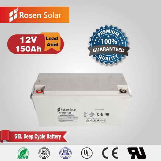 China Manufacturer Power Storage 12V 150ah Gel Battery