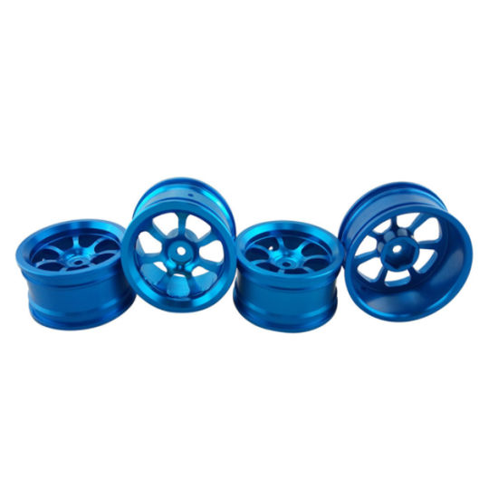 Blue Color Electric Scooter Aluminum Alloy Wheel Hub CNC Machining Wheel Hub pictures & photos