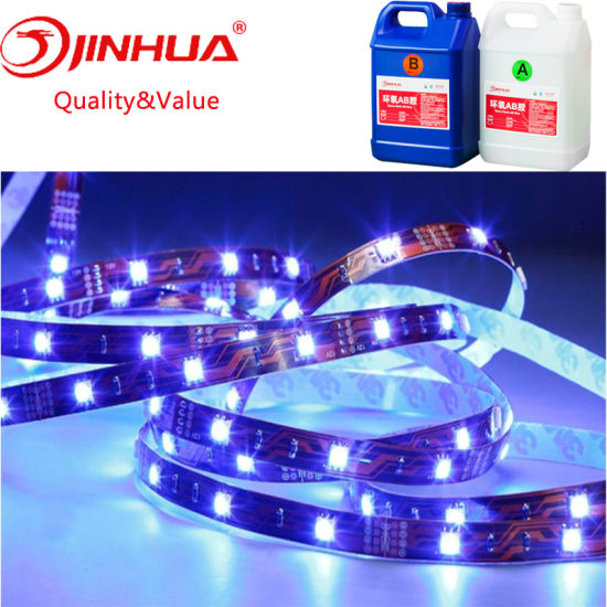 China Yellow Resistance Flexible Soft Epoxy Resin for LED