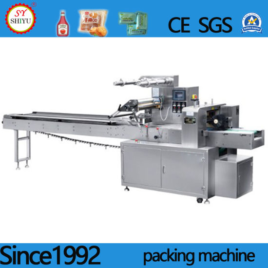 Multi-Function Automatic Horizontal Bread Cookies Food Packaging Packing Machinery