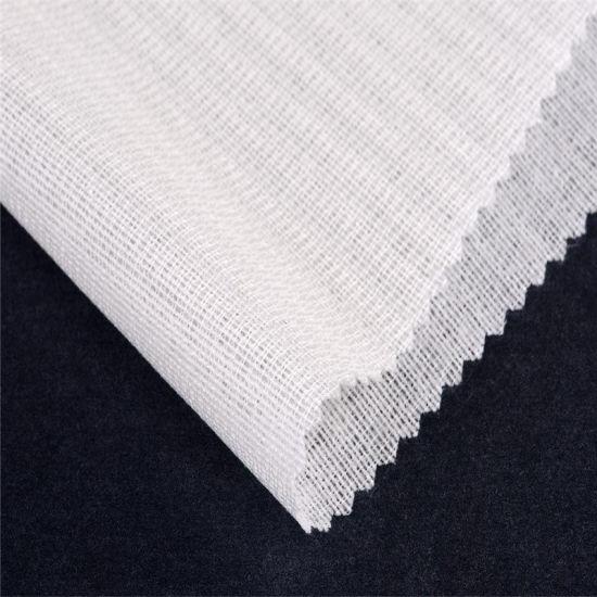 Polyester-Viscose Fusible Bi-Stretch Woven Garment Interlining
