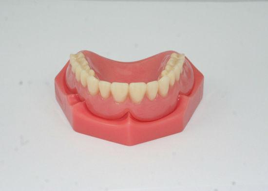 Full Acrylic Denture with Acrylic Teeth Set up & Finish /Full Mouth Restoration