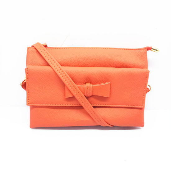Plush Coin Purse PU Leather Wallet Card Pouch From Guangzhou Wholesale Handbags Factory (151615) pictures & photos
