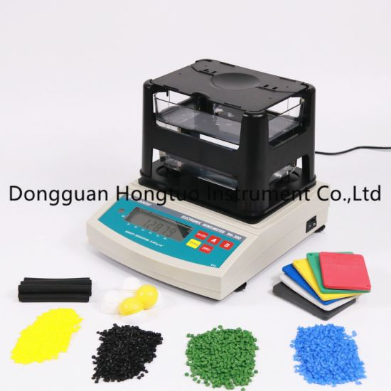 DH-300 Popular Supplier Rubber Electronic Densimeter, Raw Plastic Density Meter, Plastic Density Tester with Top Quality