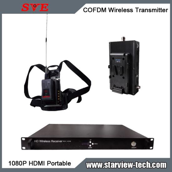 Cofdm HDMI AV Nlos Wireless Portable HD Video Transmitter