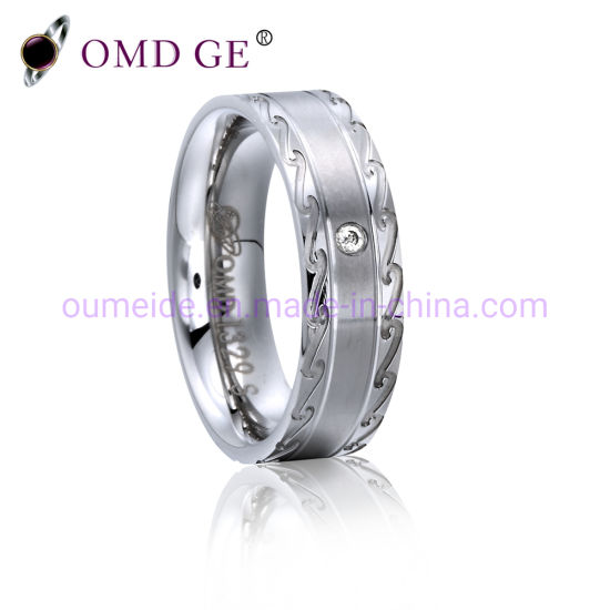 925 Sterling Silver Jewelry Wedding Ring